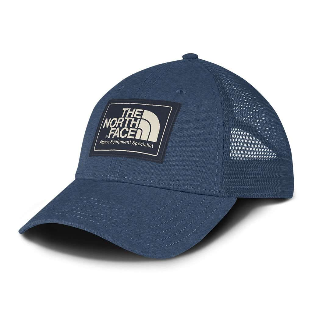 Mudder Trucker Hat in Shady Blue   Urban Navy by The North Face -FINAL SALE  - FINAL SALE d37e9b65d7a