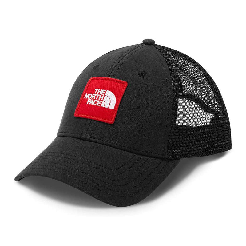The North Face Patches Trucker Hat in TNF Black   TNF Red – Country ... a55f8fcf1c3d