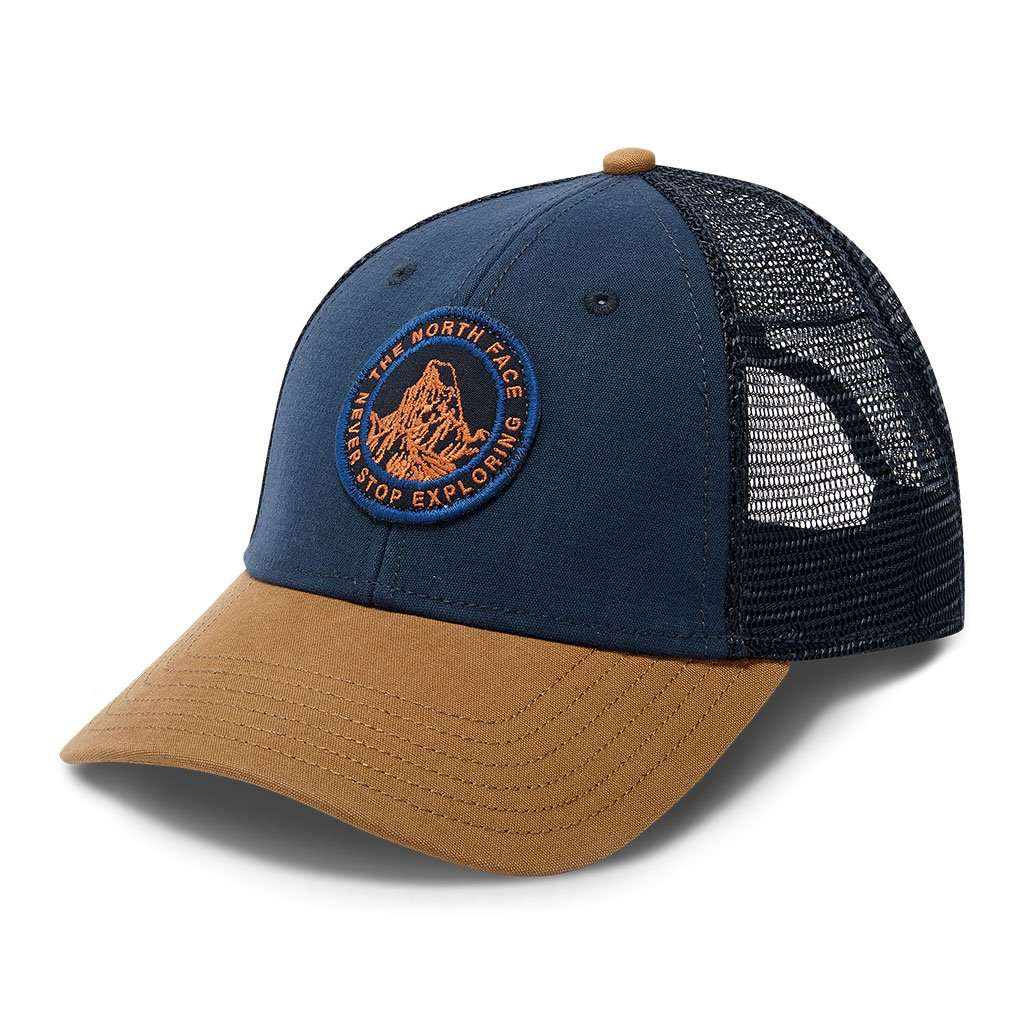 a5f533af Patches Trucker Hat in Urban Navy & Cargo Khaki by The North Face FINAL  SALE -