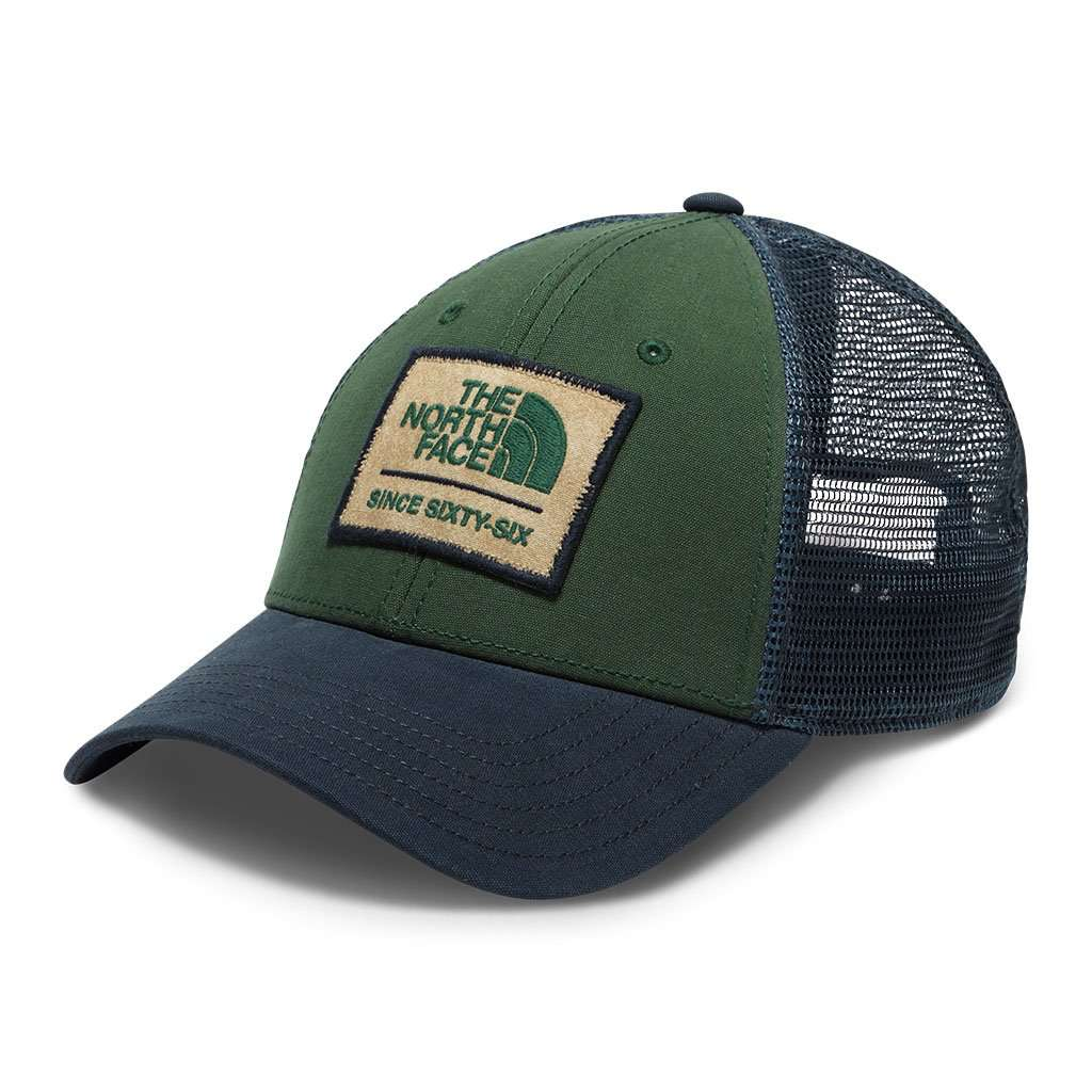 The North Face Patches Trucker Hat in Urban Navy e5e69df9a7bd