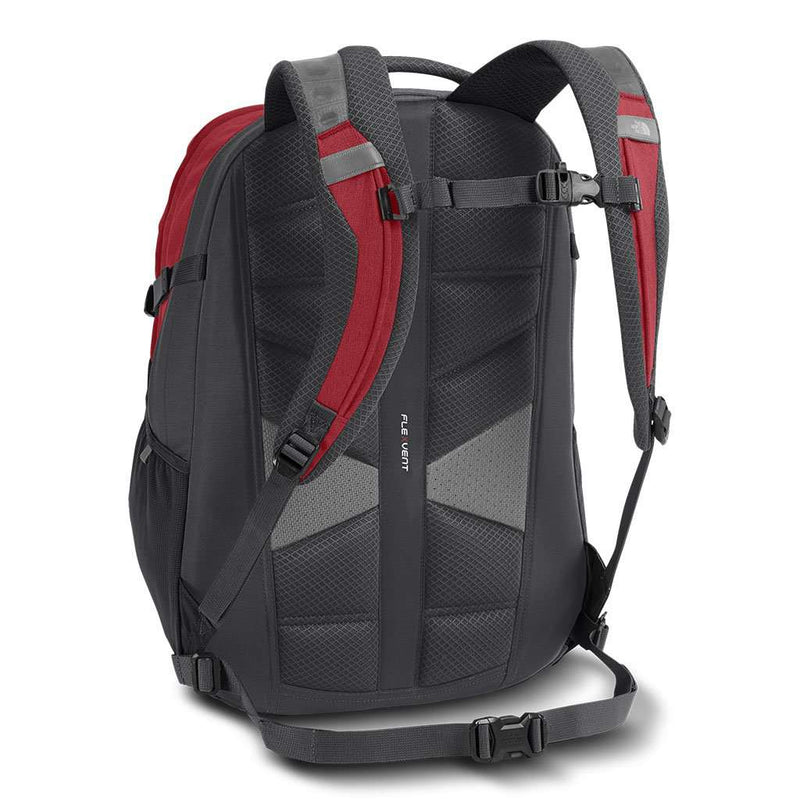 The North Face Recon Backpack In Rage Red Amp Asphalt Grey