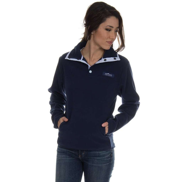 The Blakely Pullover in Navy by Lauren James  - 1