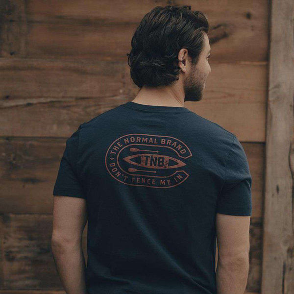 The Normal Brand Canoe T-Shirt in Navy