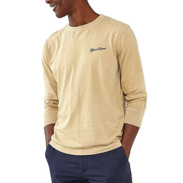 Long Sleeve Industrial T in Dune by The Normal Brand - FINAL SALE