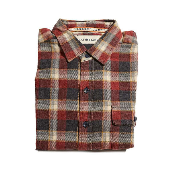 Marco Washed Twill Button Up Shirt by The Normal Brand