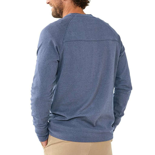 Puremeso Crew Pullover in Indigo by The Normal Brand - FINAL SALE