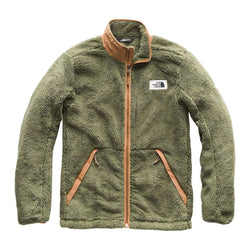 783fe4fd047 Men s Campshire Full Zip Sherpa Fleece in Four Leaf Clover   Cargo Khaki by The  North Face - FINAL SALE