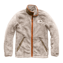 c0be9e704 Men's Campshire Full Zip Sherpa Fleece in Granite Bluff Tan & Beech Green  by The North Face - FINAL SALE