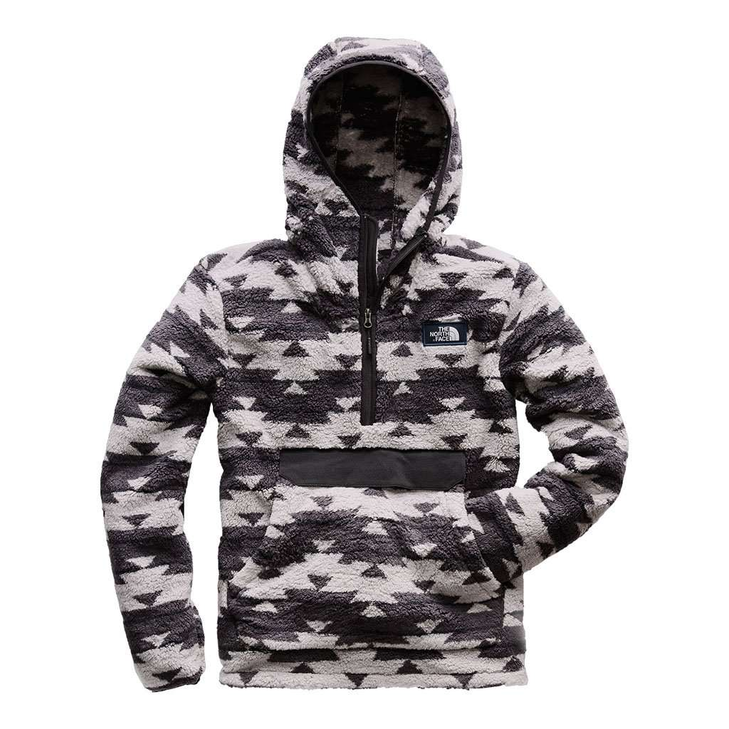 8b60fdd82 Men's Campshire Pullover Hoodie in High Rise Grey California Basket Print  by The North Face - FINAL SALE