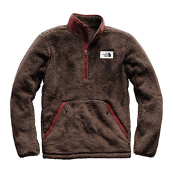 715e4b1a7859 Men s Campshire Sherpa Fleece Pullover in Bracken Brown   Sequoia Red by The  North Face - FINAL SALE