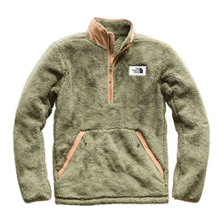 eb13240a29 Men s Campshire Sherpa Fleece Pullover in Four Leaf Clover   Cargo Khaki by The  North Face - FINAL SALE