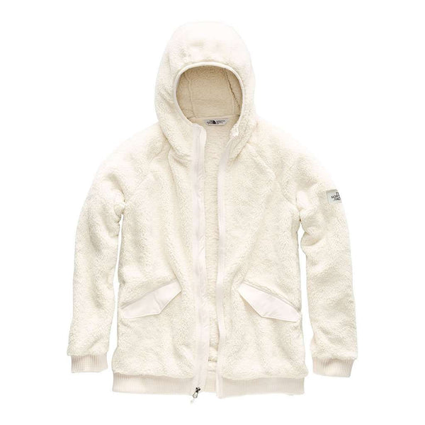 The North Face Women's Campshire Bomber in Vintage White