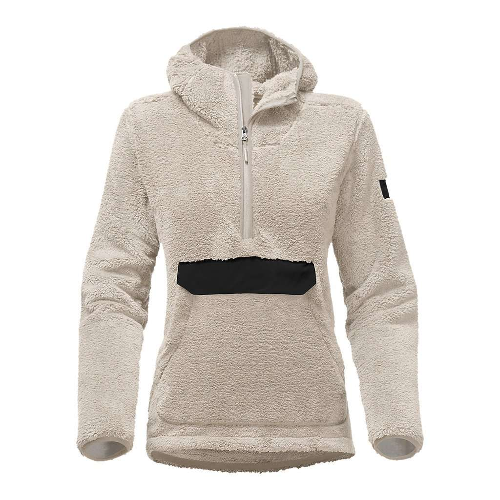 e7a3b6c0e Women's Campshire Sherpa Fleece Pullover Hoodie in Vintage White by The  North Face - FINAL SALE