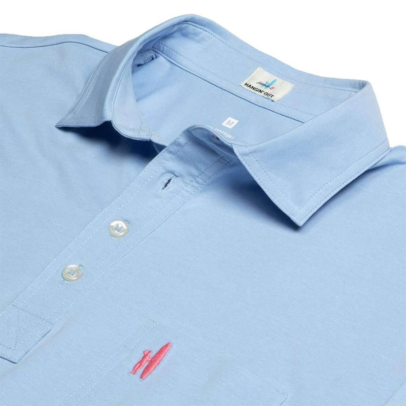 The Original 4-Button Polo in Gulf Blue by Johnnie-O