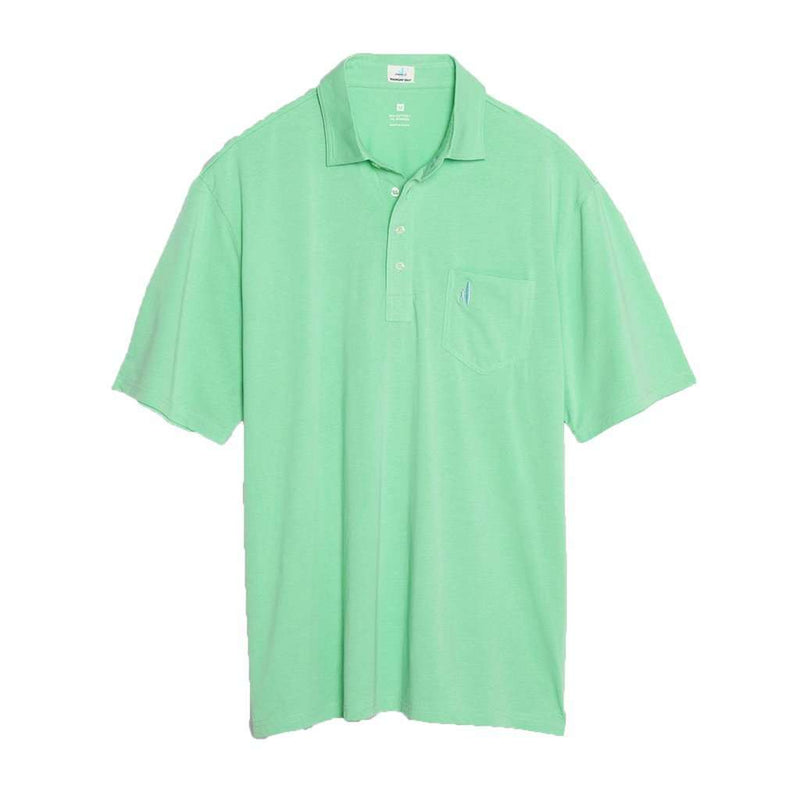 The Original 4-Button Polo in Highlighter by Johnnie-O