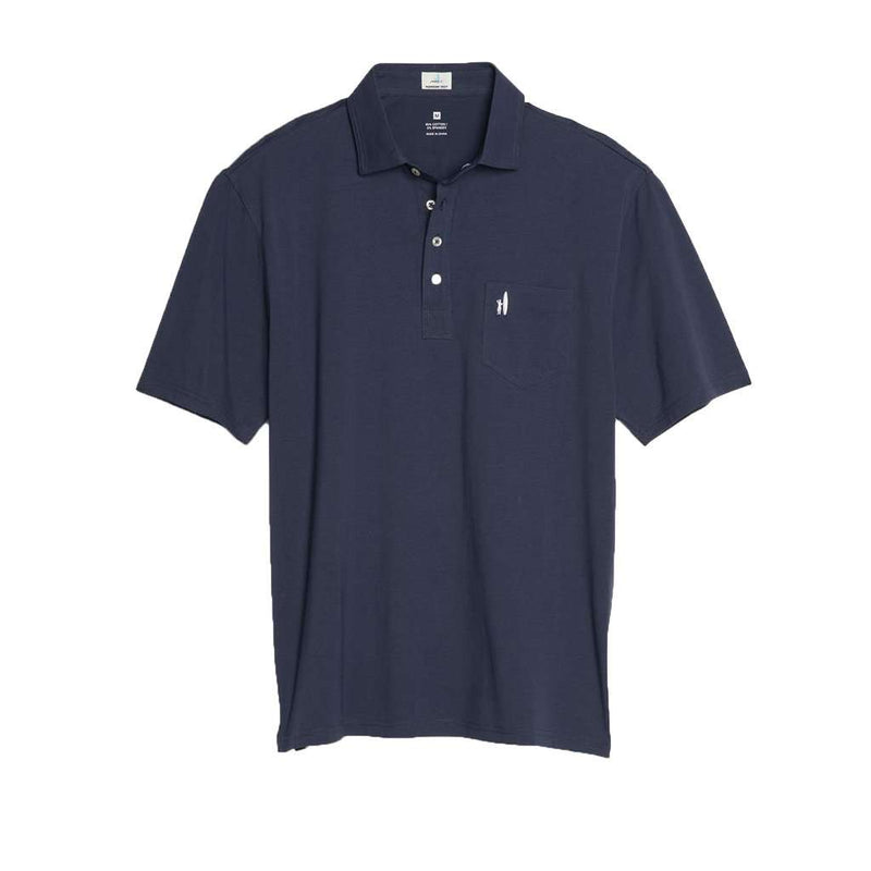 The Original 4-Button Polo in Wake by Johnnie-O