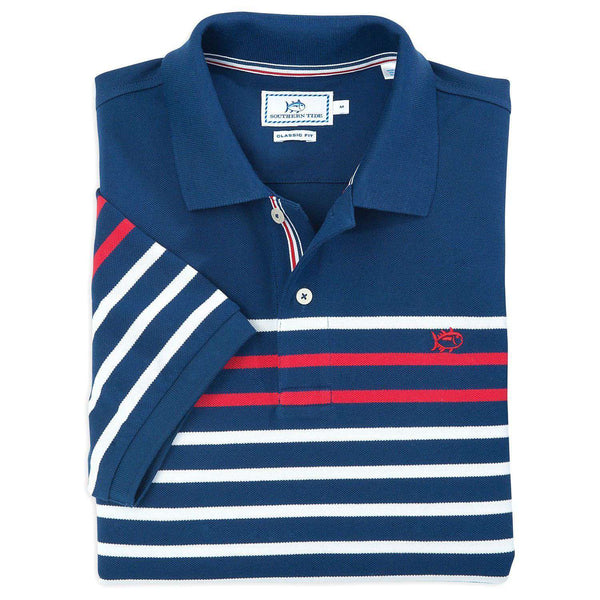 The Primary Polo in Yacht Blue by Southern Tide  - 1