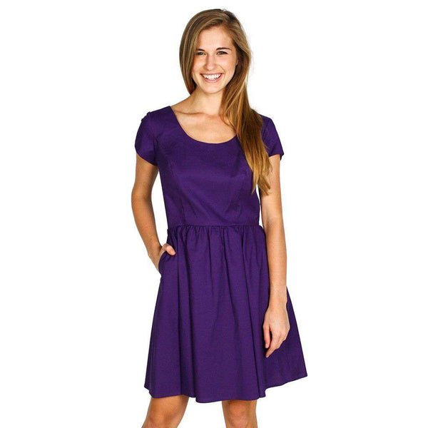 The Sheridan Dress in Purple by Lauren James  - 1
