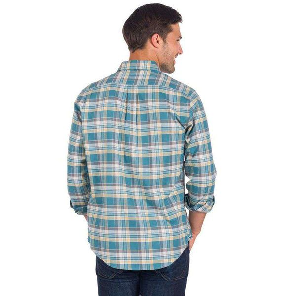 The Southern Shirt Co. Cross Creek Flannel in Evergreen