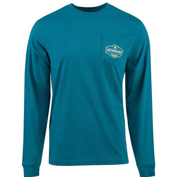 Dawn til Dusk Long Sleeve Tee in Mercer by The Southern Shirt Co. - FINAL SALE