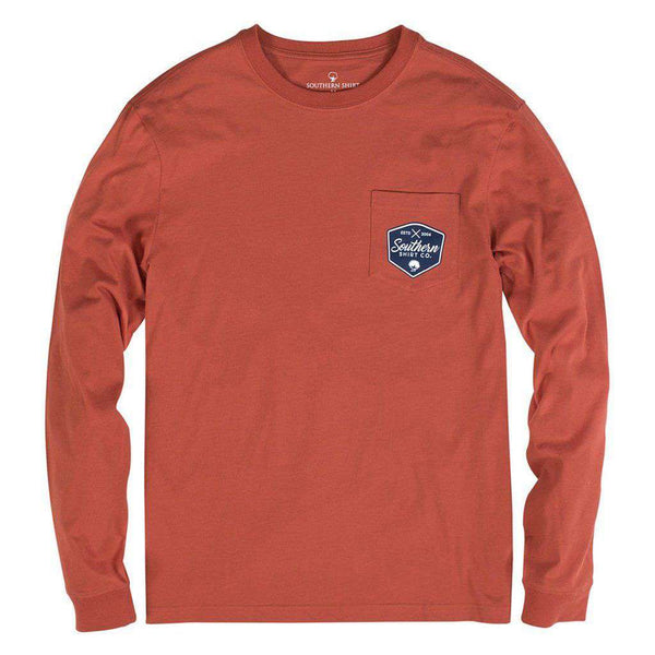 Elk Ridge Long Sleeve Tee in Harvest by The Southern Shirt Co. - FINAL SALE