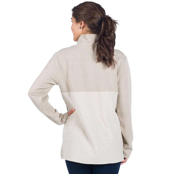 Herringbone Loop Pullover in Safari by The Southern Shirt Co.