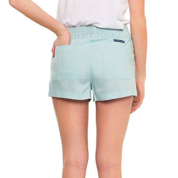 Lightweight Tencel Short in Chambray by The Southern Shirt Co. - FINAL SALE