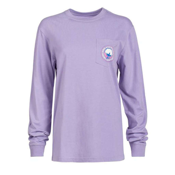 The Southern Shirt Co. Nordic Mittens Long Sleeve Tee in Sweet Lavender