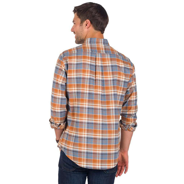 Plainsman Flannel in Auburn by The Southern Shirt Co. - FINAL SALE