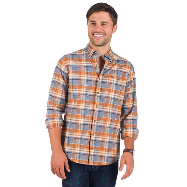 The Southern Shirt Co. Plainsman Flannel in Auburn