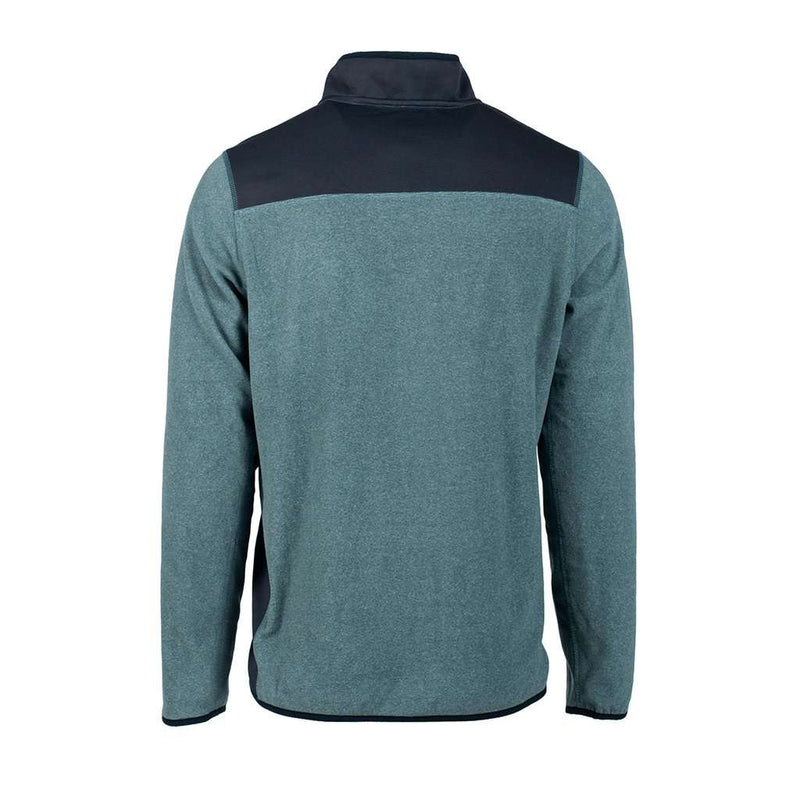 Trailhead Quarter Zip in Deep Atlantic by The Southern Shirt Co. - FINAL SALE