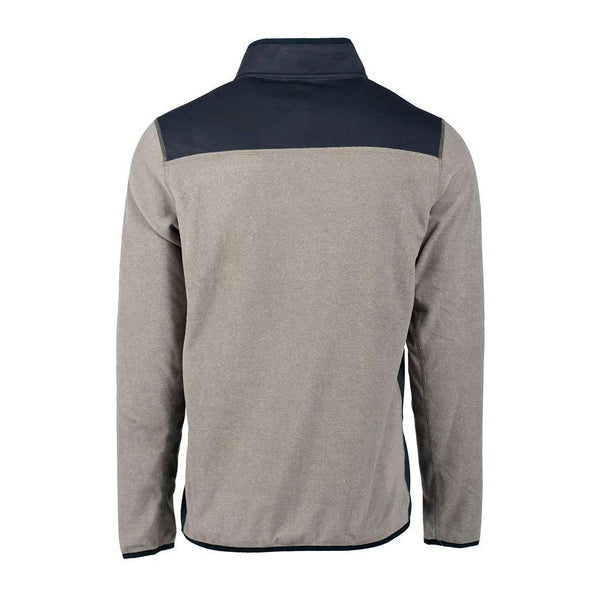 The Southern Shirt Co. Trailhead Quarter Zip in Rhino by The Southern Shirt Co.