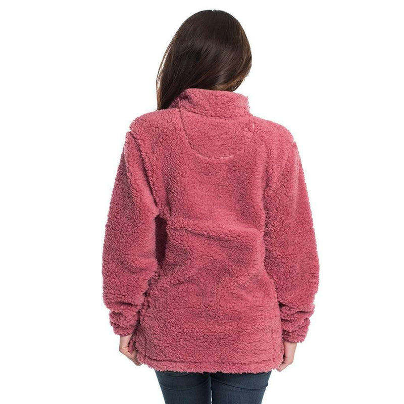 The Southern Shirt Co Sherpa Pullover with Pockets in Sonoma