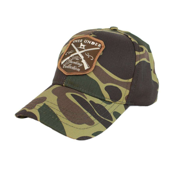 Over Under Clothing Sporting Collection Hat in Old School Camo by Over Under Clothing