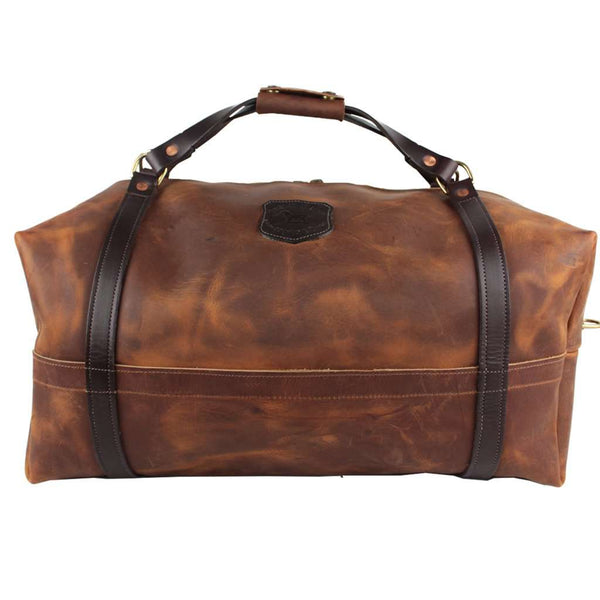 Over Under Clothing Traditional Leather Duffle By Over Under Clothing