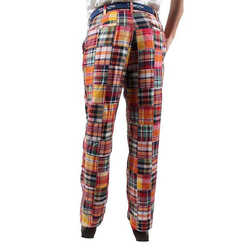 Triple Crown Madras Pants by Country Club Prep - FINAL SALE