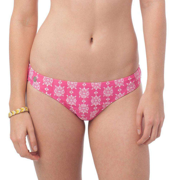 Turtlepoint Print Surfside Bikini Bottom by Southern Tide  - 1