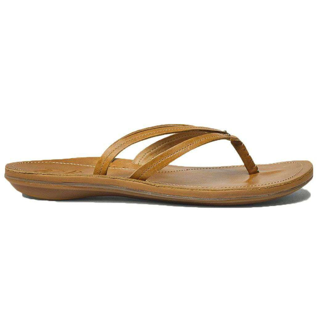 Women's U'I Sandal in Sahara Brown by Olukai  - 1