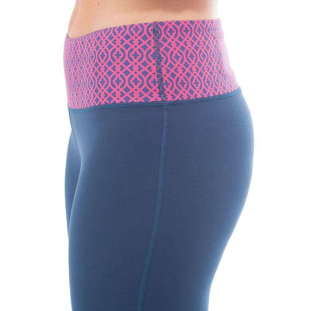 Veranda RunRunner Leggings in Navy by Krass & Co