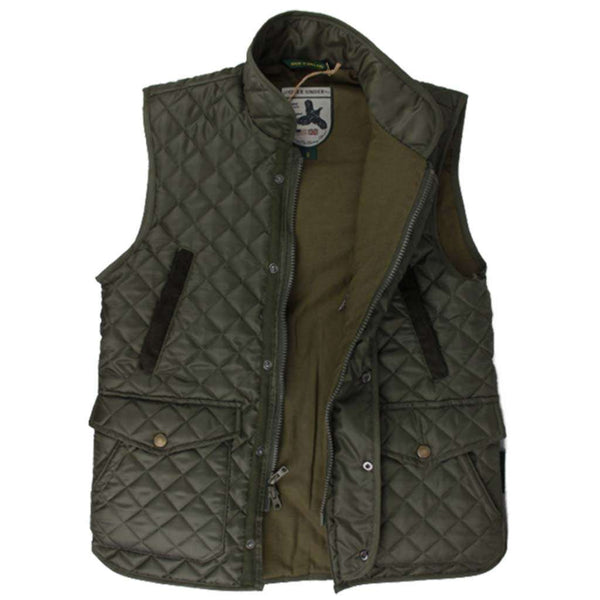 Over Under Clothing Quilted Field Vest by Over Under Clothing