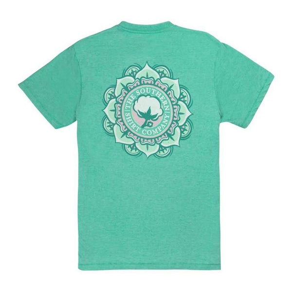 Vintage Burnout Tee in Aqua Green by The Southern Shirt Co.. - FINAL SALE