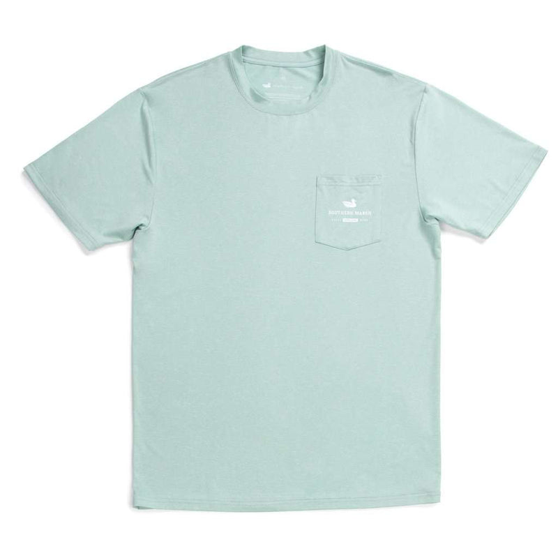 Southern Marsh FieldTec™ Heather Performance Tee - Tarpon by Southern Marsh