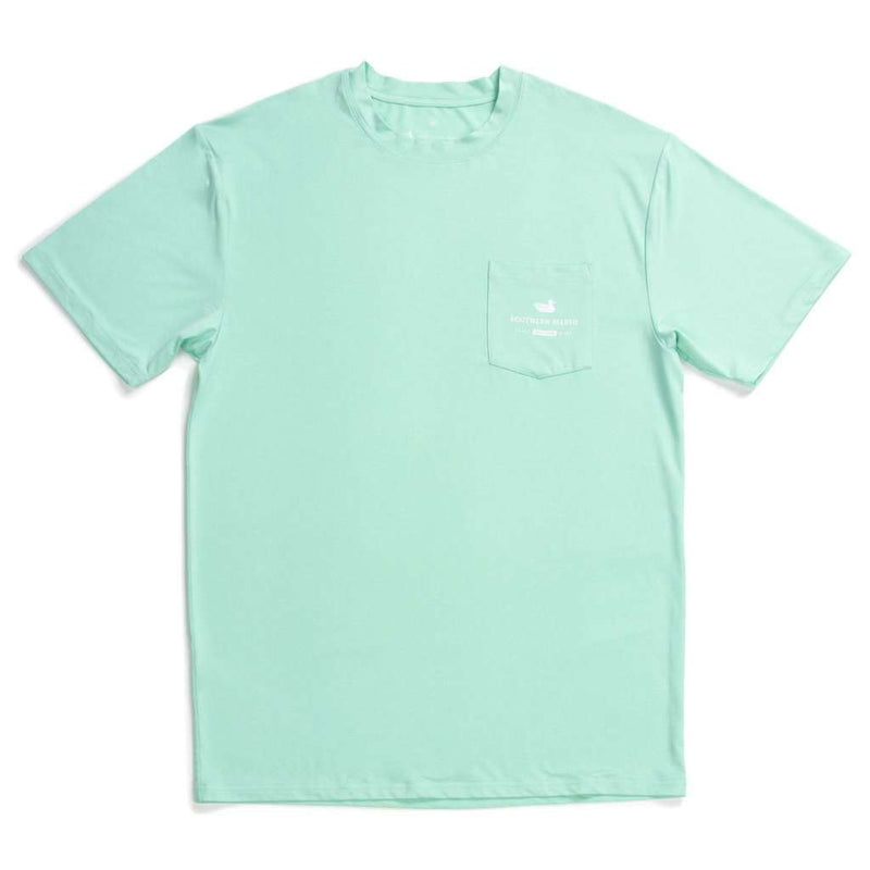 Southern Marsh FieldTec™ Heather Performance Tee - Pompano by Southern Marsh