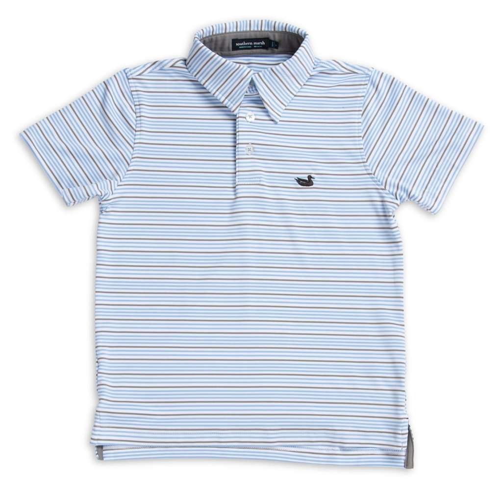 Youth Oakwood Performance Polo by Southern Marsh