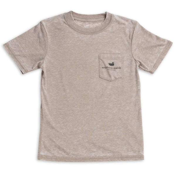 Southern Marsh Youth SEAWASH™ Tee - Branding - Ducks by Southern Marsh