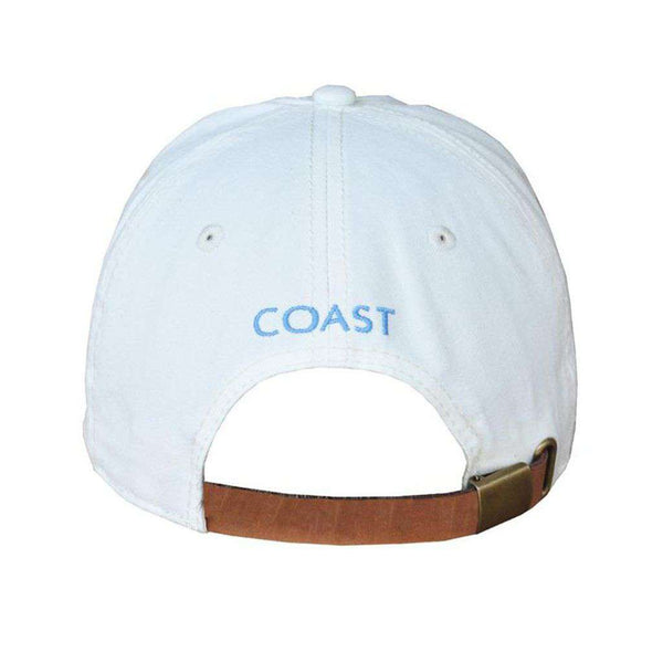 Crab Logo Hat in White by Coast