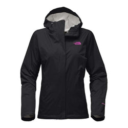 6b28118610 The North Face Women s Venture 2 Jacket in TNF Black and Violet Pink ...