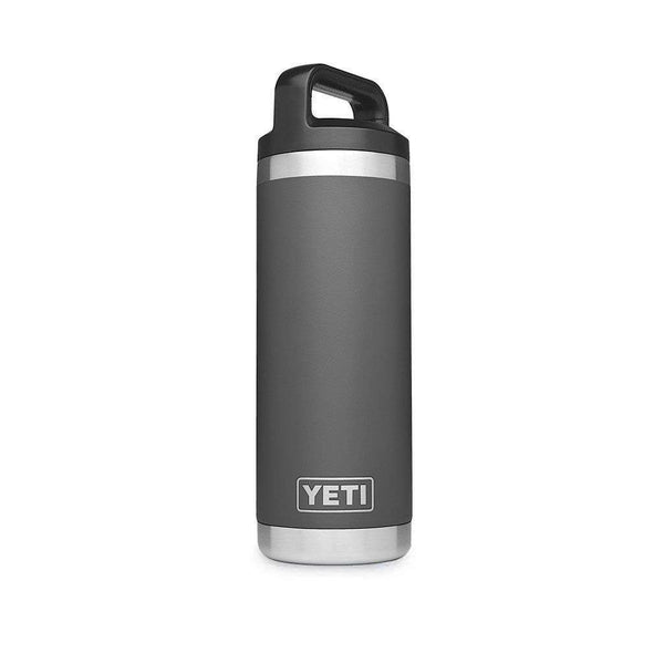 18 oz. Rambler Bottle in Charcoal by YETI