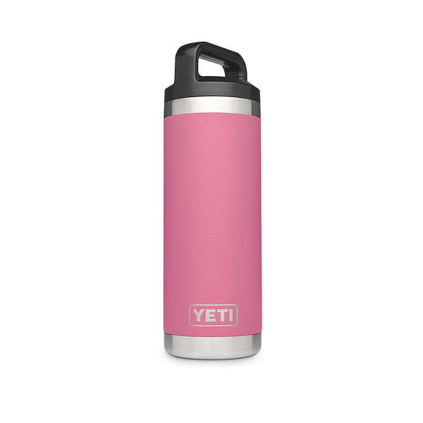 YETI 18 oz. Rambler Bottle in Harbor Pink