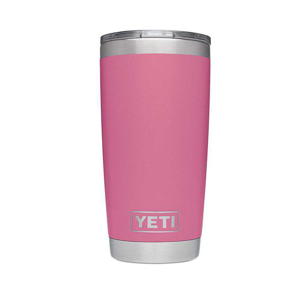 20 oz. DuraCoat Rambler Tumbler in Harbor Pink with Magslider™ Lid by YETI